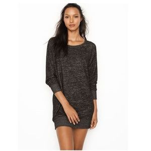 Worn once Victoria's Secret Cozy Tunic in Charcoal